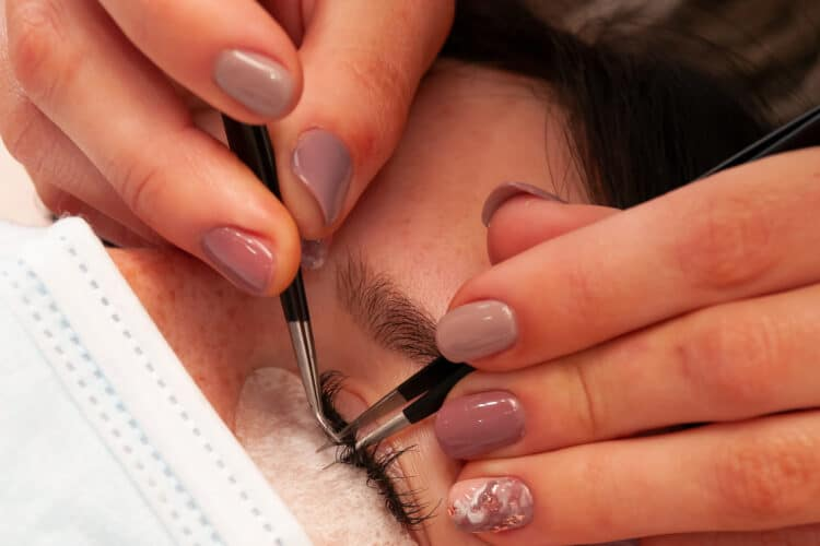 Eye treatments at Beauty Escape